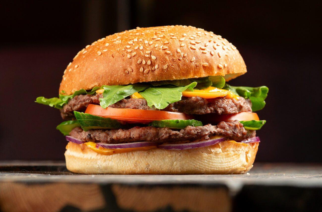 Гамбургер в домашних условиях или булочка с мясом