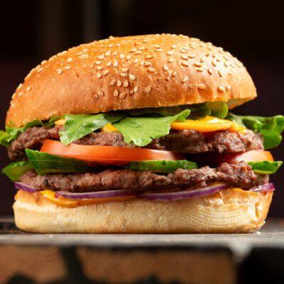 Гамбургер в домашних условиях или булочка с мясом - рецепт с фото