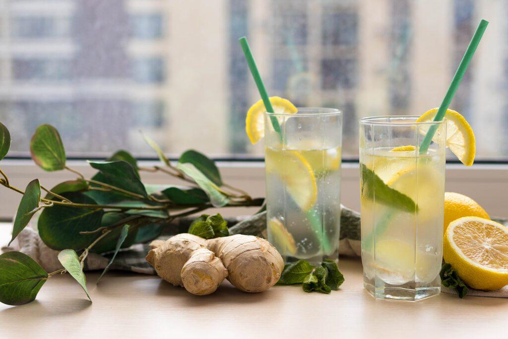Фото рецепта - Имбирный лимонад - шаг 2