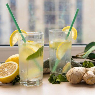 Имбирный лимонад - рецепт с фото