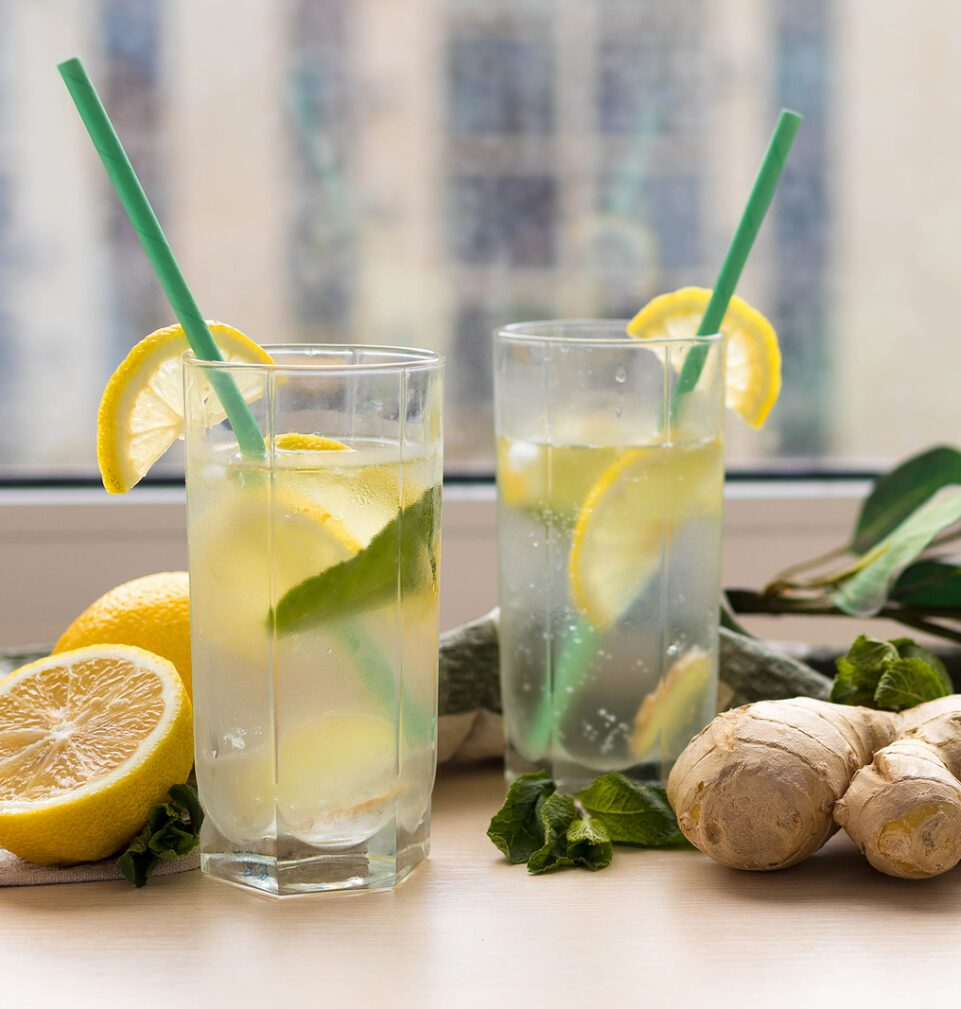 Фото рецепта - Имбирный лимонад - шаг 3