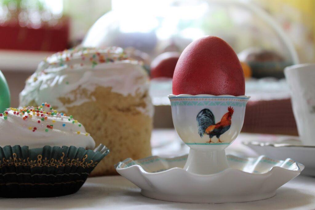 Фото рецепта - Красим яйца к Пасхе - шаг 2