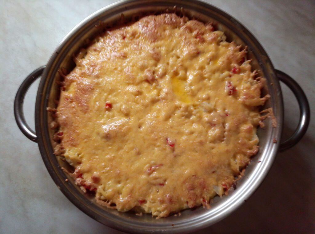 Фото рецепта - Овощная запеканка из баклажанов, кабачков и цветной капусты - шаг 7