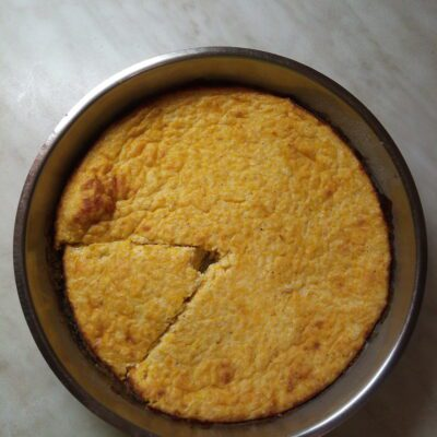 Творожная запеканка с тыквой - рецепт с фото