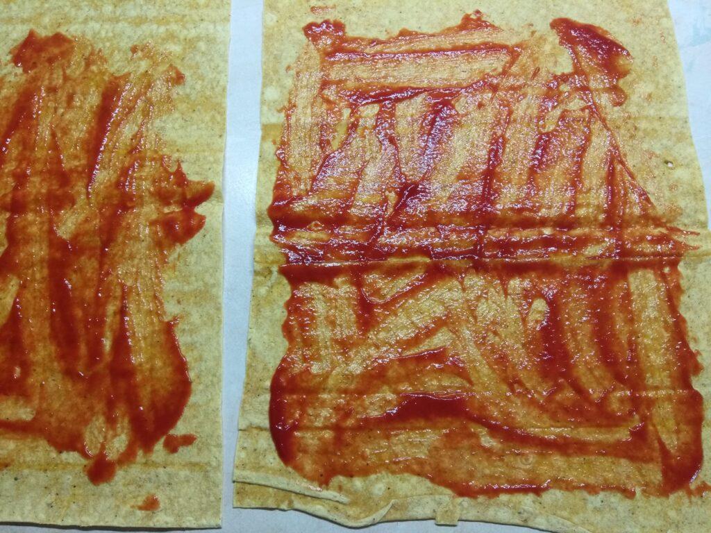Фото рецепта - Роллы с московской колбасой, шампиньонами и сыром с плесенью - шаг 1