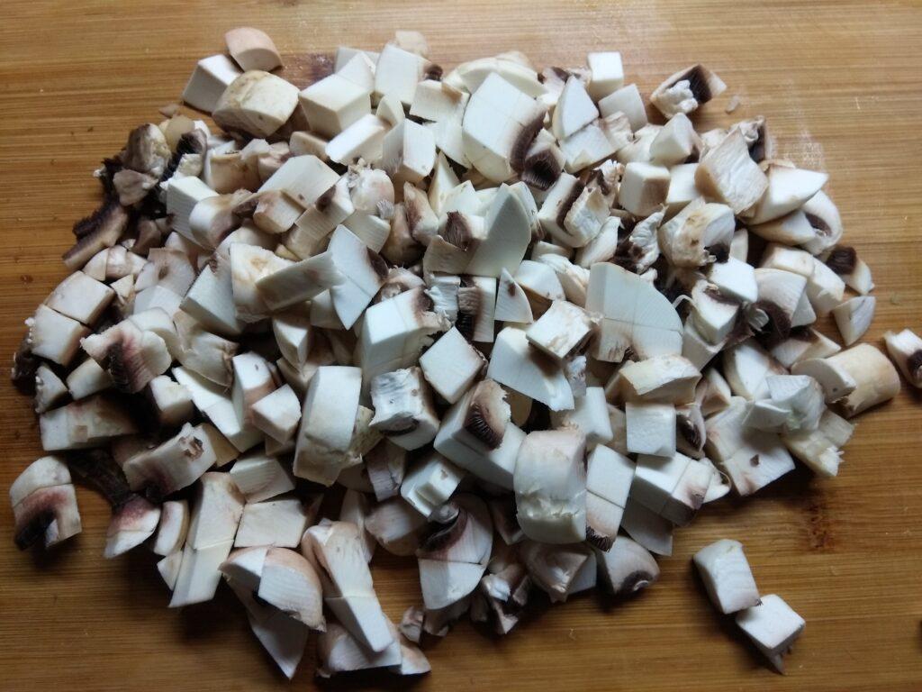 Фото рецепта - Картофель, фаршированный шампиньонами - шаг 5