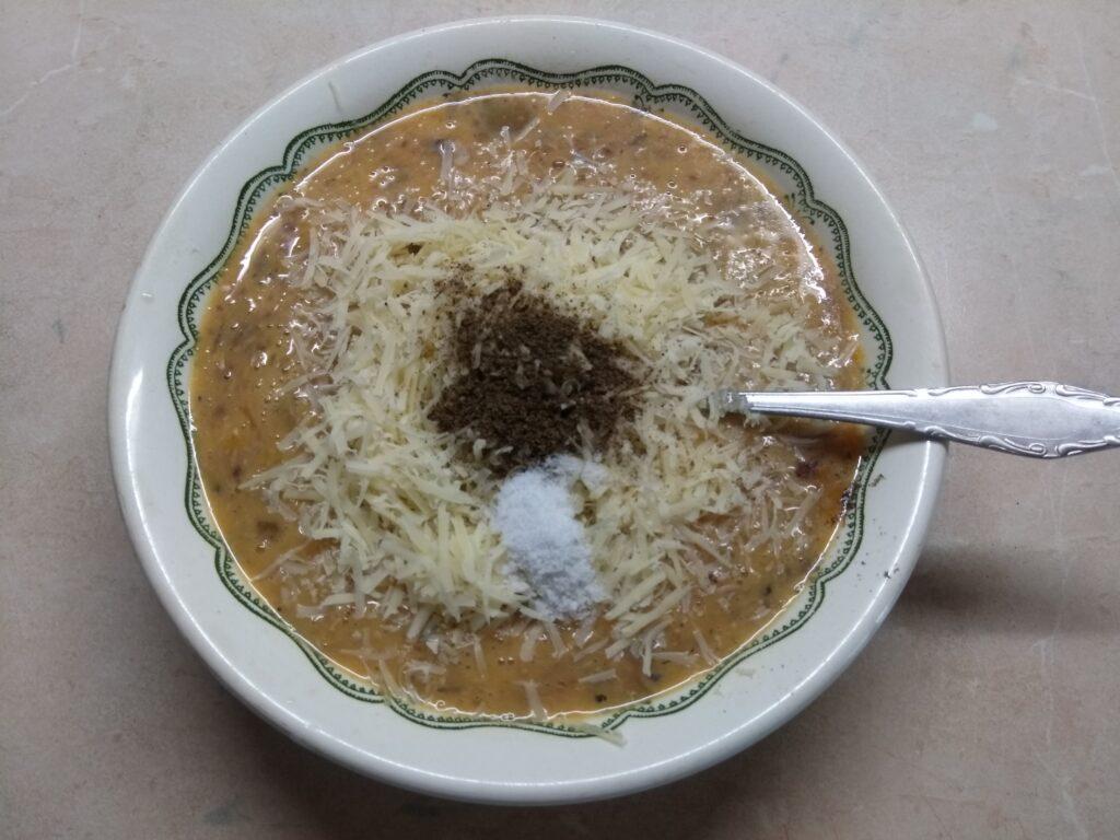Фото рецепта - Омлет с сардинами - шаг 4