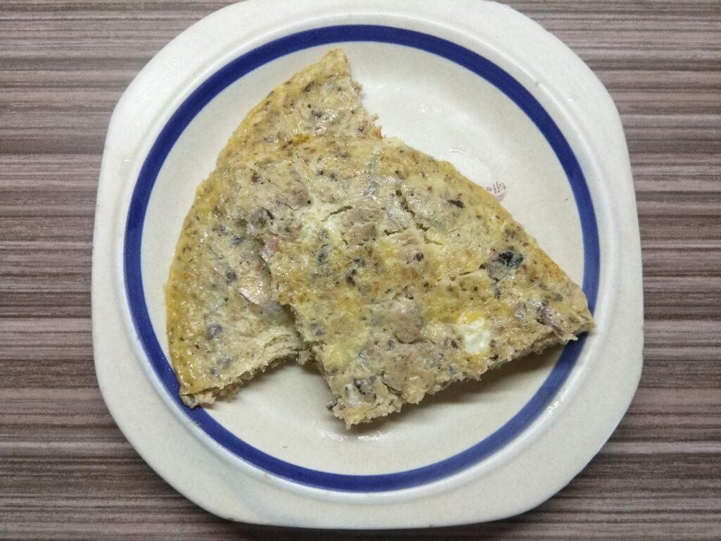 Фото рецепта - Омлет с сардинами - шаг 5