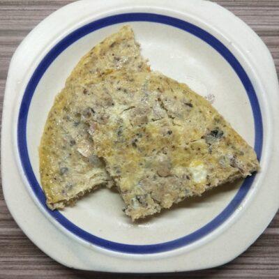 Омлет с сардинами - рецепт с фото