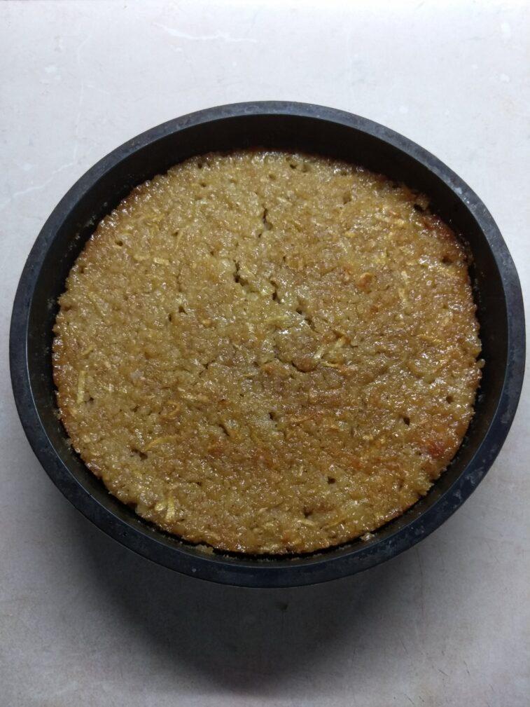 Фото рецепта - Запеканка из булгура с яблоками и медом - шаг 5