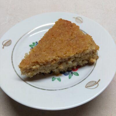 Запеканка из булгура с яблоками и медом - рецепт с фото