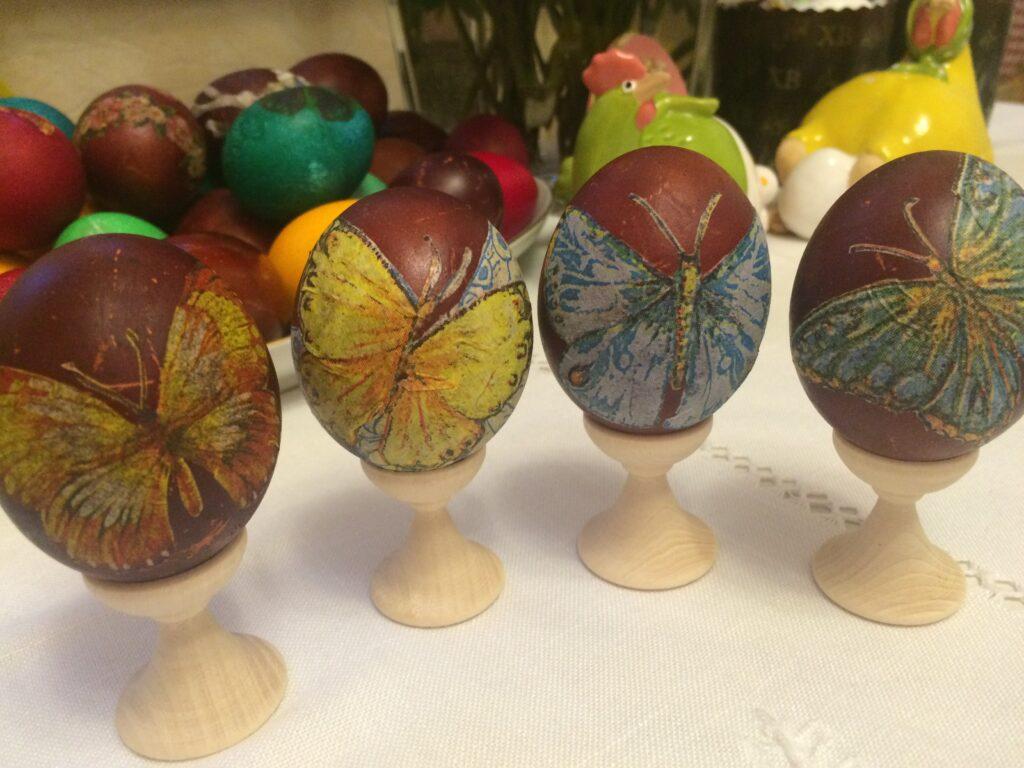 Фото рецепта - Красим яйца к Пасхе - шаг 7