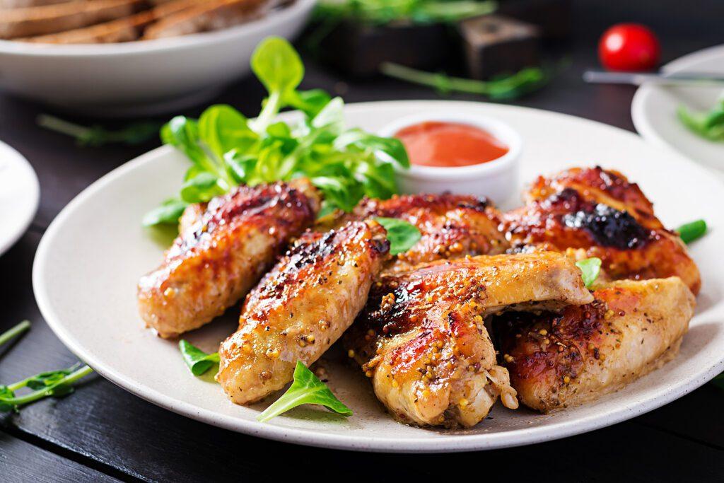Фото рецепта - Куриные крылья-гриль - шаг 5