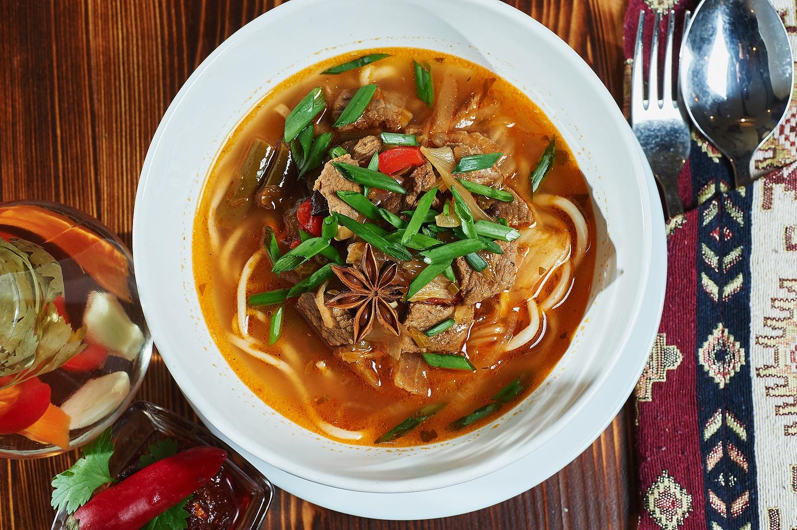 <span>Узбекская кухня</span>