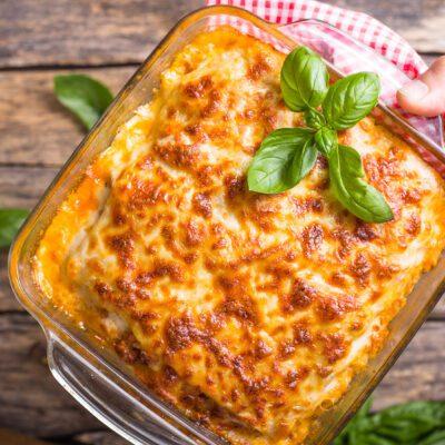 Лазанья с фаршем и кабачком - рецепт с фото