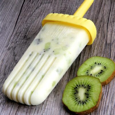 Кокосовое мороженное с киви - рецепт с фото