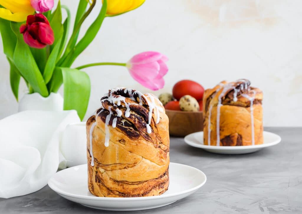 Фото рецепта - Пасхальный Краффин с шоколадом - шаг 7