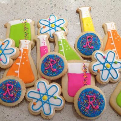 Песочное печенье с глазурью - рецепт с фото