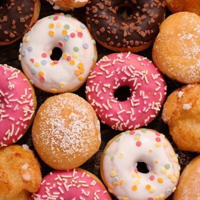 Пончики классические (жареные) - рецепт с фото