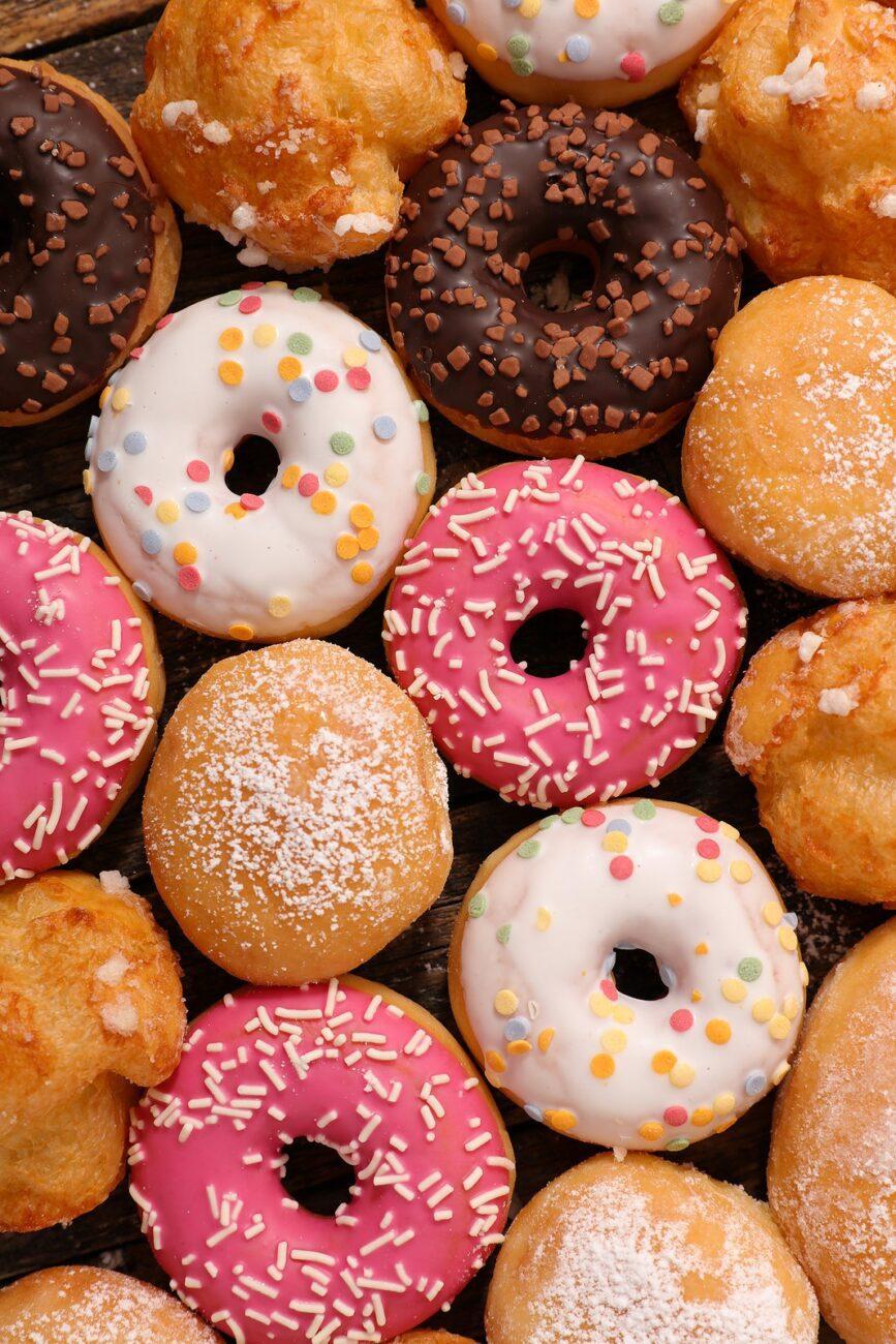 Пончики классические (жареные)