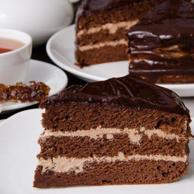 Шоколадный торт Прага - рецепт с фото