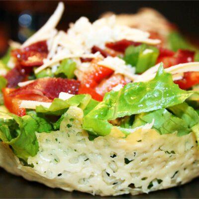 Корзиночки из сыра - рецепт с фото