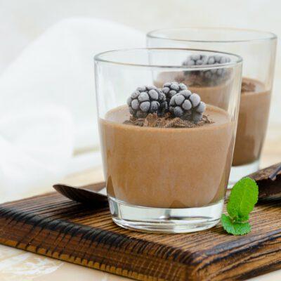 Шоколадный пудинг - рецепт с фото