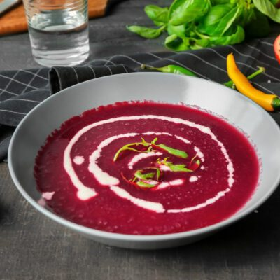Суп-пюре из свеклы - рецепт с фото