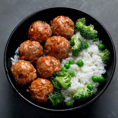 Мясные тефтели с рисом - рецепт с фото