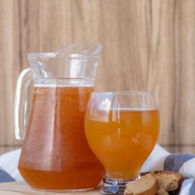 Традиционный русский ржаной квас - рецепт с фото