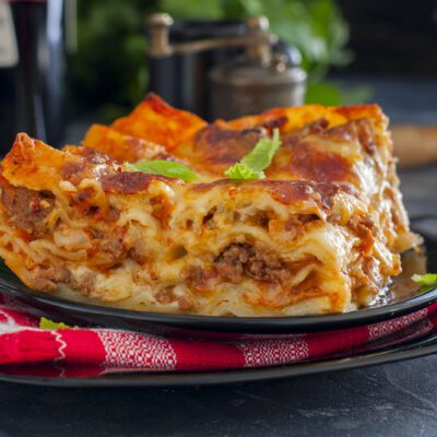 Запеченная лазанья - рецепт с фото