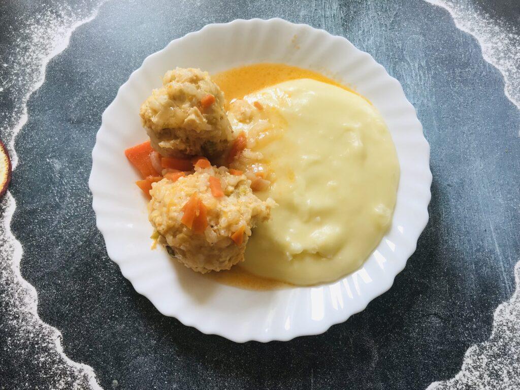 Фото рецепта - Ленивые голубцы с куриным фаршем в казане - шаг 7