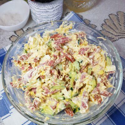 Салат «Нежный» - рецепт с фото