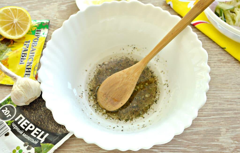 Фото рецепта - Капустный салат со сладким соусом - шаг 4