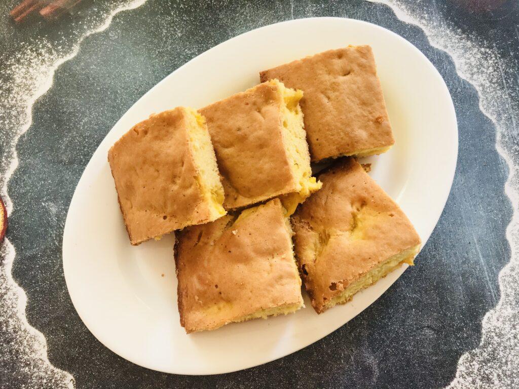 Фото рецепта - Кекс с апельсином в духовке - шаг 6