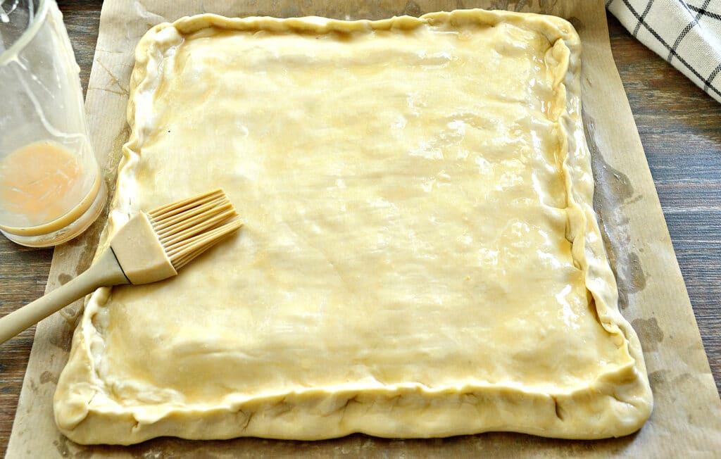 Фото рецепта - Слоеный капустный пирог - шаг 5
