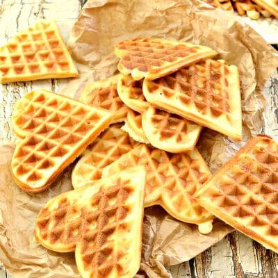 Сладкие вафли в электровафельнице - рецепт с фото