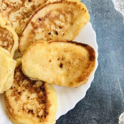 Творожные оладушки на кефире - рецепт с фото