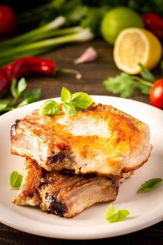 Фото рецепта - Антрекот на кости из свинины - шаг 6