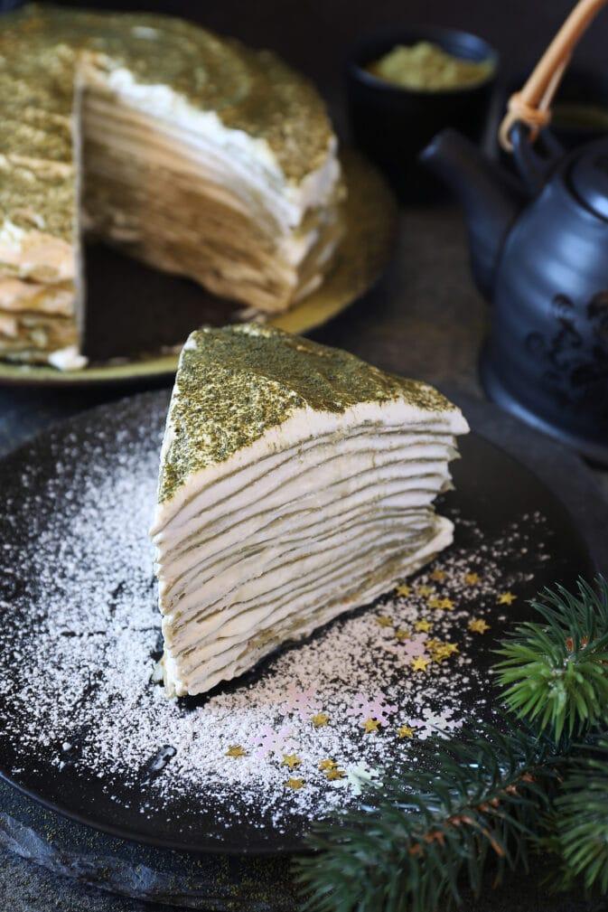 Фото рецепта - Блинный торт с маскарпоне - шаг 7