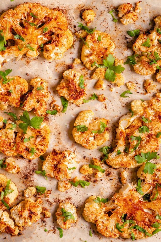 Фото рецепта - Цветная капуста в духовке со специями - шаг 4