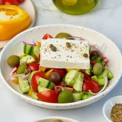 Диетический греческий салат