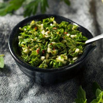 Домашний острый соус чимичурри - рецепт с фото