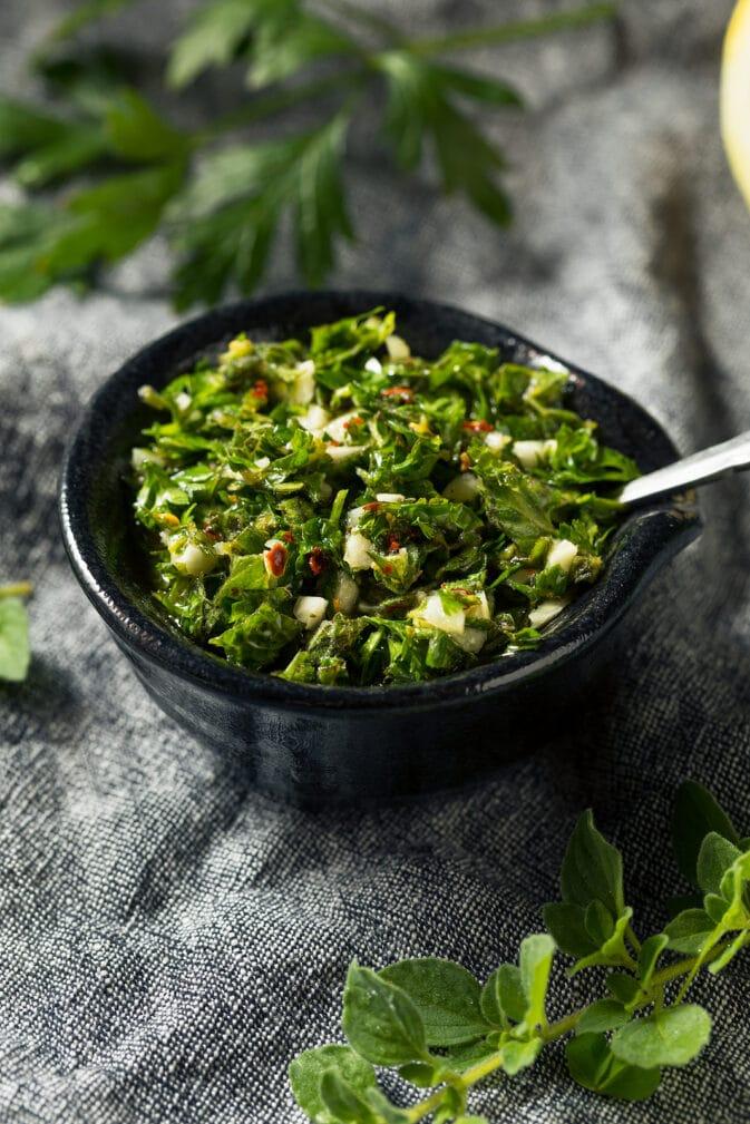 Фото рецепта - Домашний острый соус чимичурри - шаг 5