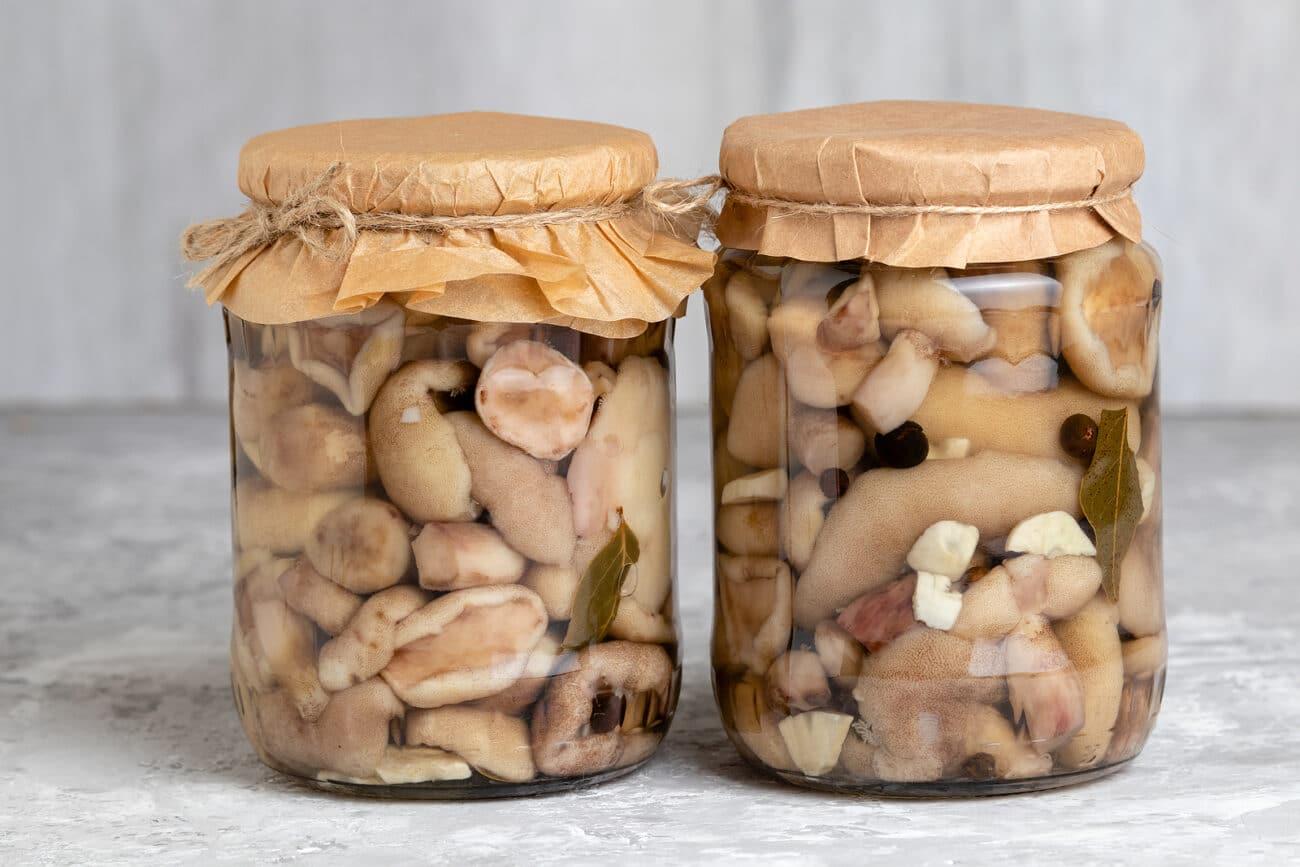 Душистые маринованные грибы