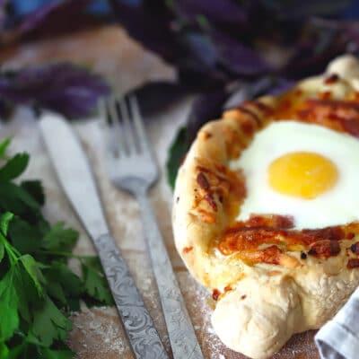 Хачапури «Лодочка» - рецепт с фото