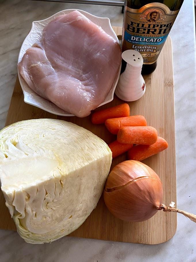 Фото рецепта - Солянка с индейкой - шаг 1