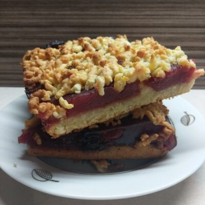Тертый пирог с повидлом - рецепт с фото