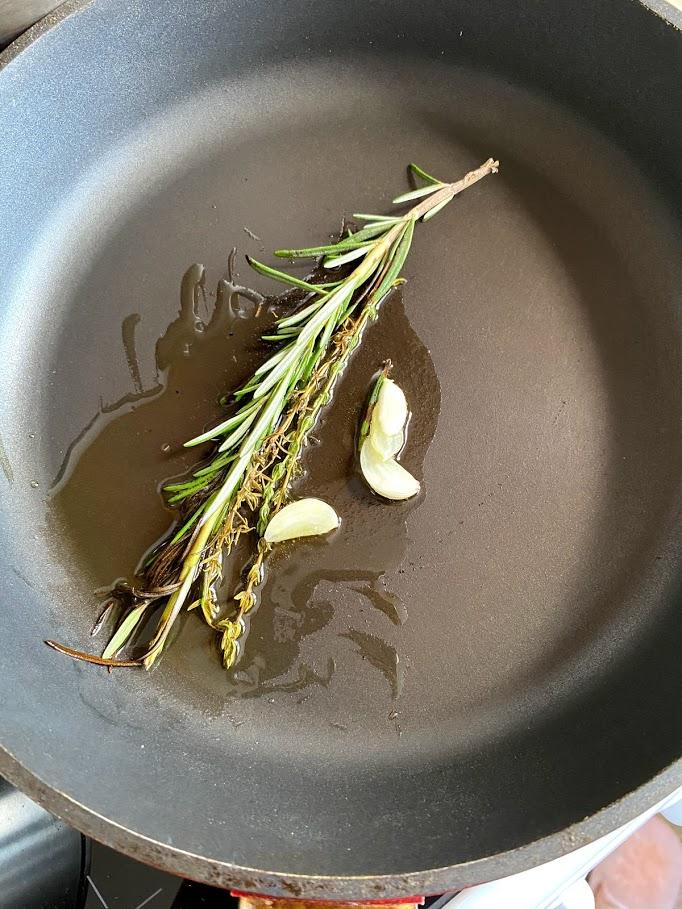Фото рецепта - Крем-суп из цветной капусты и фасоли - шаг 6