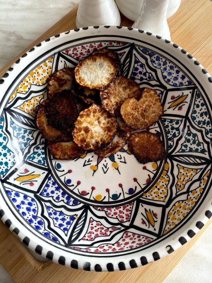 Фото рецепта - Куриные желудочки с репкой - шаг 11